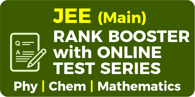 JEE Main Rank Booster with Online Test Series